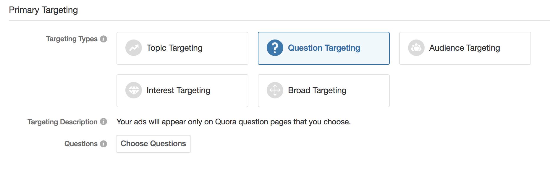 quora advertising policy